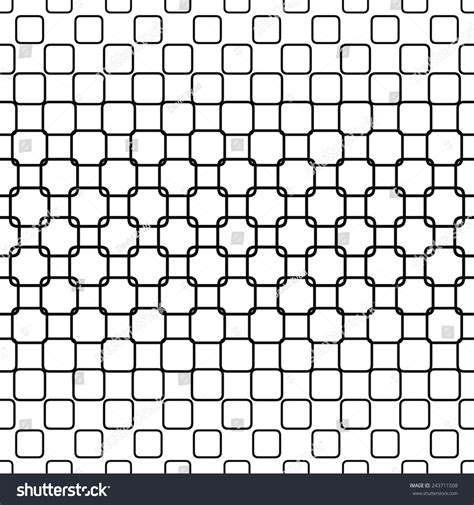 square pattern design images repeating monochrome rounded square pattern design stock