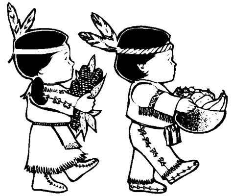 thanksgiving coloring pages indian happy thanksgiving coloring pages
