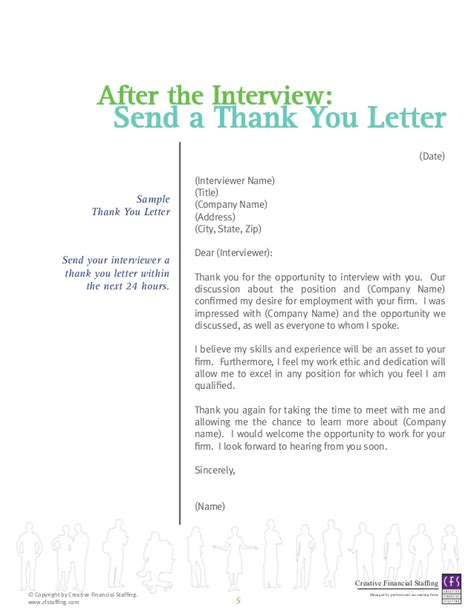 thank you letter after agency thank you letter after staffing agency cover