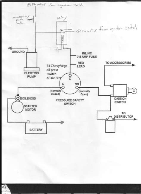3 prong pressure switch and electric fuel is a