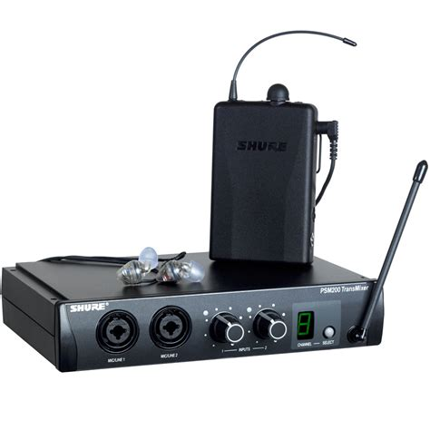 Ear Monitor shure psm 200 s5 171 in ear monitoring system