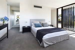 Bedroom Designs With Grey Carpet Minimalist Bedroom In Project California House With Grey