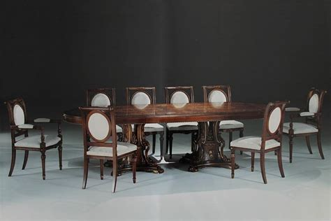 tavoli per sale da pranzo tavolo ovale intarsiato per sale da pranzo e sale riunione