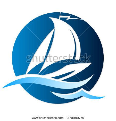 the open boat lighthouse symbol wave sail stock photos royalty free images vectors