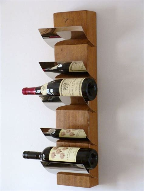 wooden wall wine racks best 25 homemade wine racks ideas on pinterest