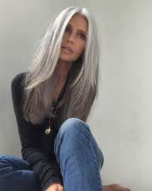 how to blend in gray in hair with low lights best 25 long silver hair ideas on pinterest long gray