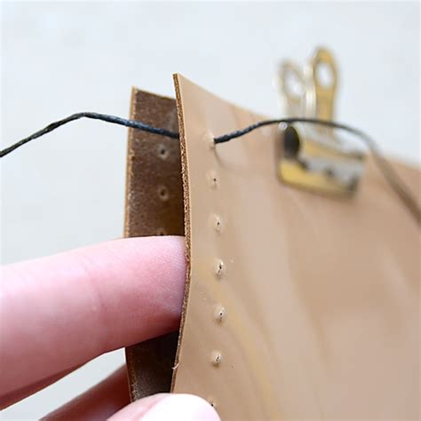 Handmade Wallet Tutorial - leather iphone tutorial