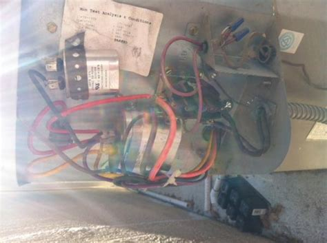 air conditioner fan not spinning capacitor goodman ac unit fan not spinning doityourself community forums