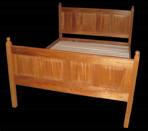 raised panel headboard raised panel bed custom furniture solid wood beds bissellwoodworking