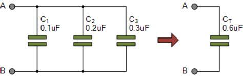 electrolytic capacitors in parallel capacitors in parallel and parallel capacitor circuits