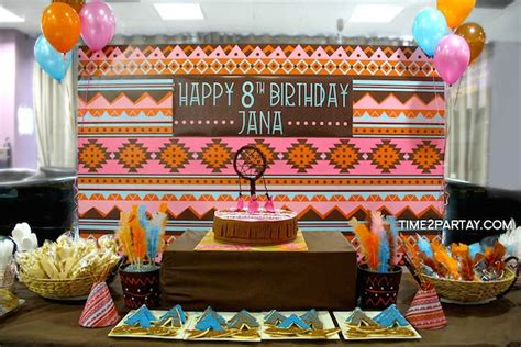 Pocahontas Decorations by Kara S Ideas Aztec Pocahontas Themed Birthday