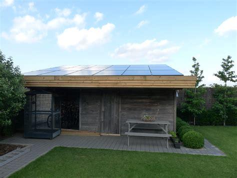 zonnepanelen op tuinhuis kilowatt solar installateur warmtepompen daikin zon op