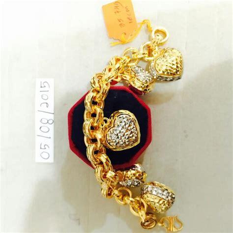 Sale Gelang Fashion Klabang rantai tangan emas916 luxury accessories on carousell