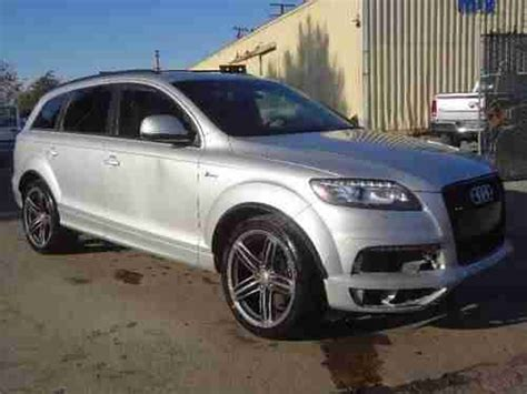 auto air conditioning service 2012 audi q7 transmission control find used 2012 audi q7 3 0 s line prestige quattro damaged salvage runs cooling good l k in