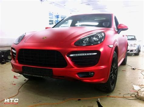 porsche cayenne matte red vvivid matte chrome red cayenne vvivid auto projects