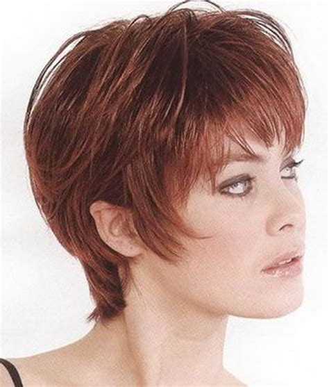 short layered layered hair cut for women over 50 pictures best short layered haircuts