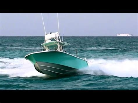 39 sea vee boat test seevee 340 open center console boat 2011 performance te