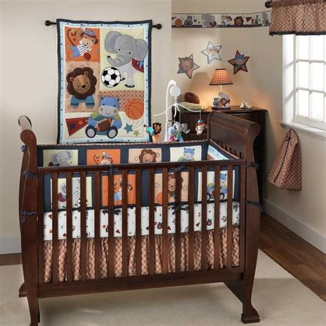 discount baby bedding sets jungle animal sports themed 3p baby boy cheap discount