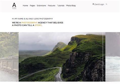 amazed photography joomla photo template