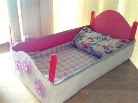 diy doll bed diy toy cardboard baby doll bed