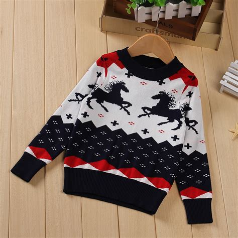 horse pattern jumper baby horse jumper reviews online shopping baby horse