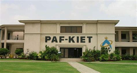 Mba Erp In Karachi by Paf Kiet Karachi Institute Of Economics And Technology