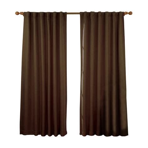 eclipse fresno curtains eclipse kendall blackout denim curtain panel 84 in