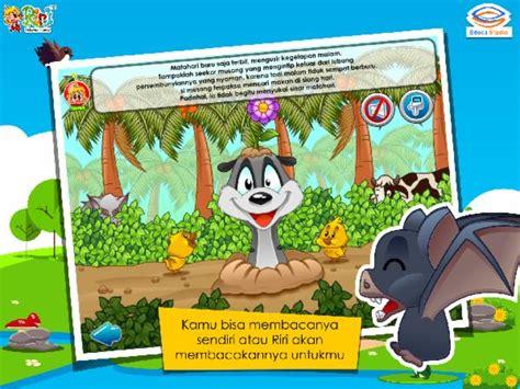 Komik Seri Cheerful Days Yuka Shibano 1 2 Tamat riri kelelawar dan musang educa studio learning apps toys toddler apps