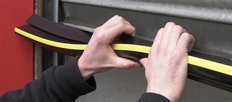 install garage door weather stripping weather door how to install garage door weather