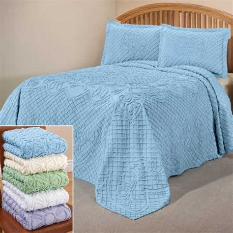 Bedspreads Only The Martha Chenille Bedding Bedspread Only Ebay
