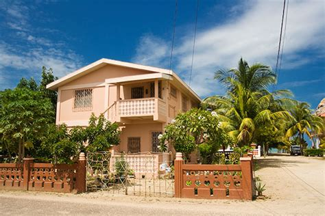 belize houses prime belize land beautiful concrete house in hopkins