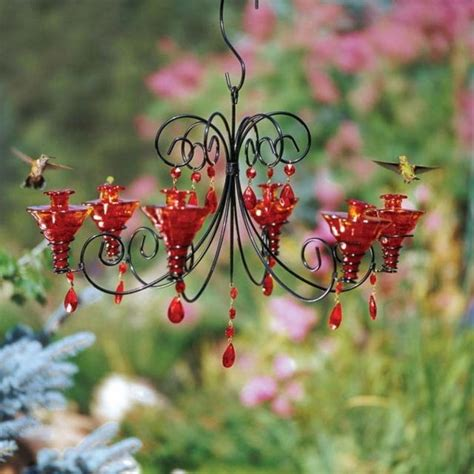 Chandelier Hummingbird Feeder Chandelier Hummingbird Feeder Around The Yard Pinterest