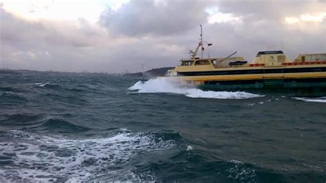 boat cruise queenscliff rough day with big waves on manly ferry from sydney