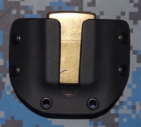 kydex sheath belt loop kydex black zippo lighter carrier with 1 1 2 inch belt