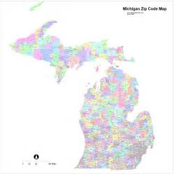 Zipcode Map Zip Code Map Michigan World Map 07