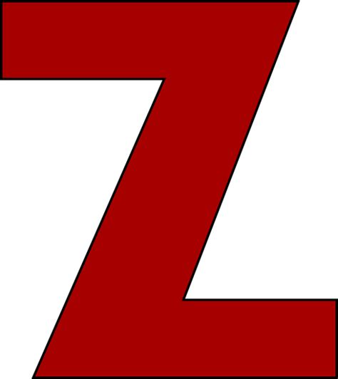 Letter Zee Z New Calendar Template Site