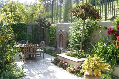 Small Mediterranean Garden Ideas San Clemente Small Home 1 Mediterranean Landscape Orange County By Dmla