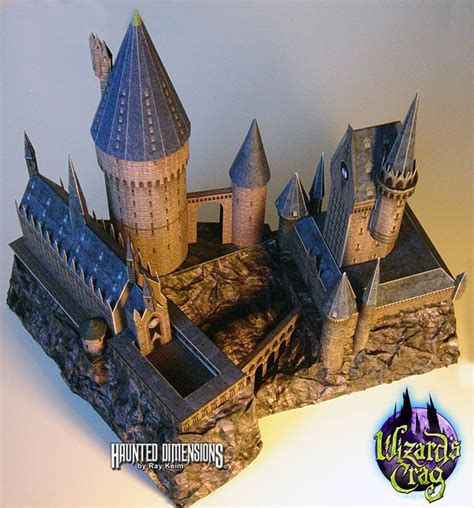 Hogwarts Papercraft - haunted dimensions news