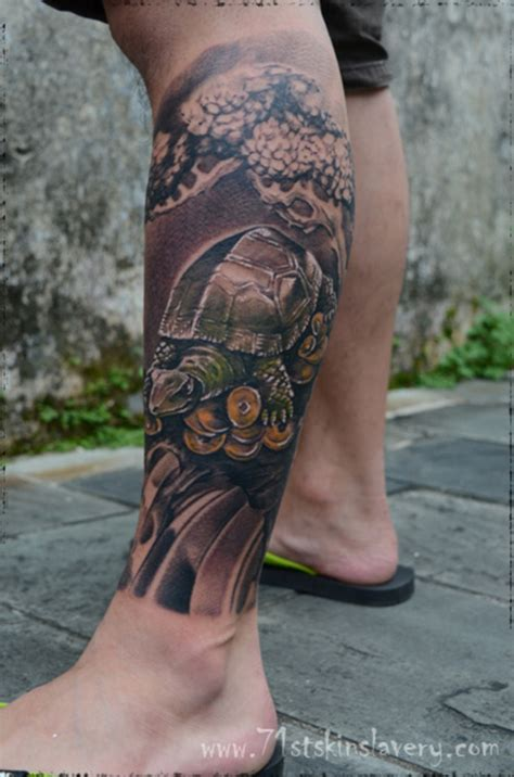 Oriental Tattoo Designs Leg | asian tattoos and designs page 16