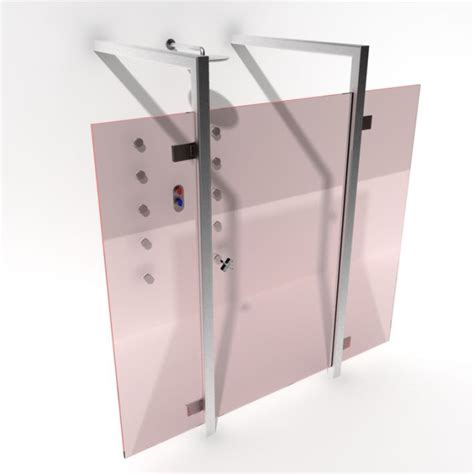 bathroom shower cabins bathroom shower cabin 3d model cgtrader