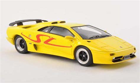 1995 Lamborghini Diablo Sv Lamborghini Diablo Sv Yellow 1995 Look Smart Diecast Model