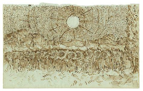 sketch tuesday summer art van gogh s bedroom harmony van gogh museum refutes rediscovered arles sketchbook