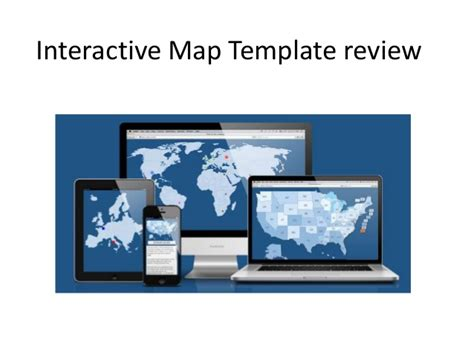 Interactive Map Website Template Interactive Map Template Review