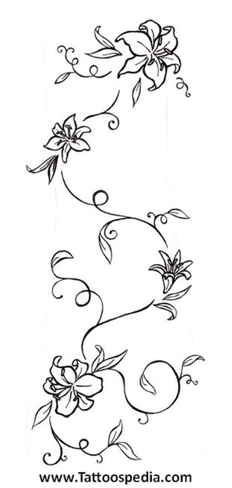 tattoo lettering vines tattoo lettering with vines 5