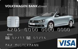 vw audi bank kreditkarte mit girokonto test vergleich