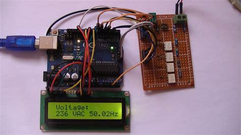 arduino based autoranging ac dc voltmeter  trms