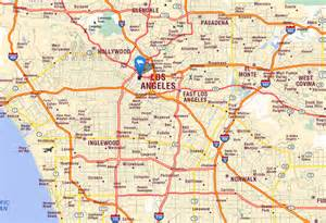 california la map map california los angeles