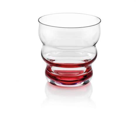 fabbrica bicchieri vetro bicchiere acqua rosso magic maestri di fabbrica