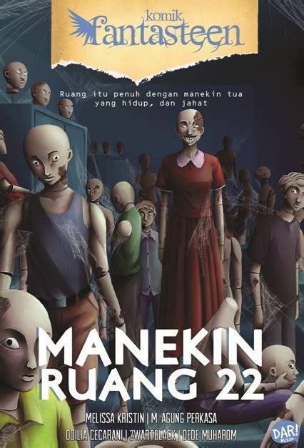 Komik Fantasteen Pentas Seni Horor buku komik fantasteen 54 manekin ruang 22 penulis