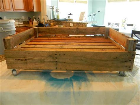 dog bed made out of pallets dog bed made from pallets pallet furniture plans